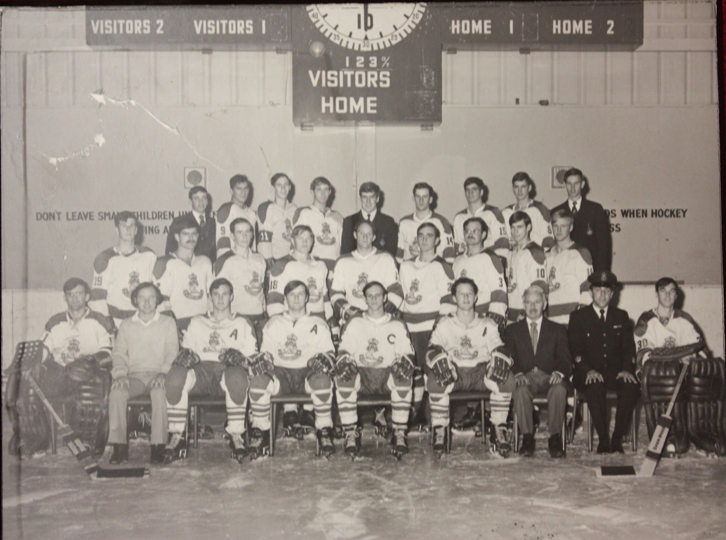 RMC Hockey 1972-73 Picture