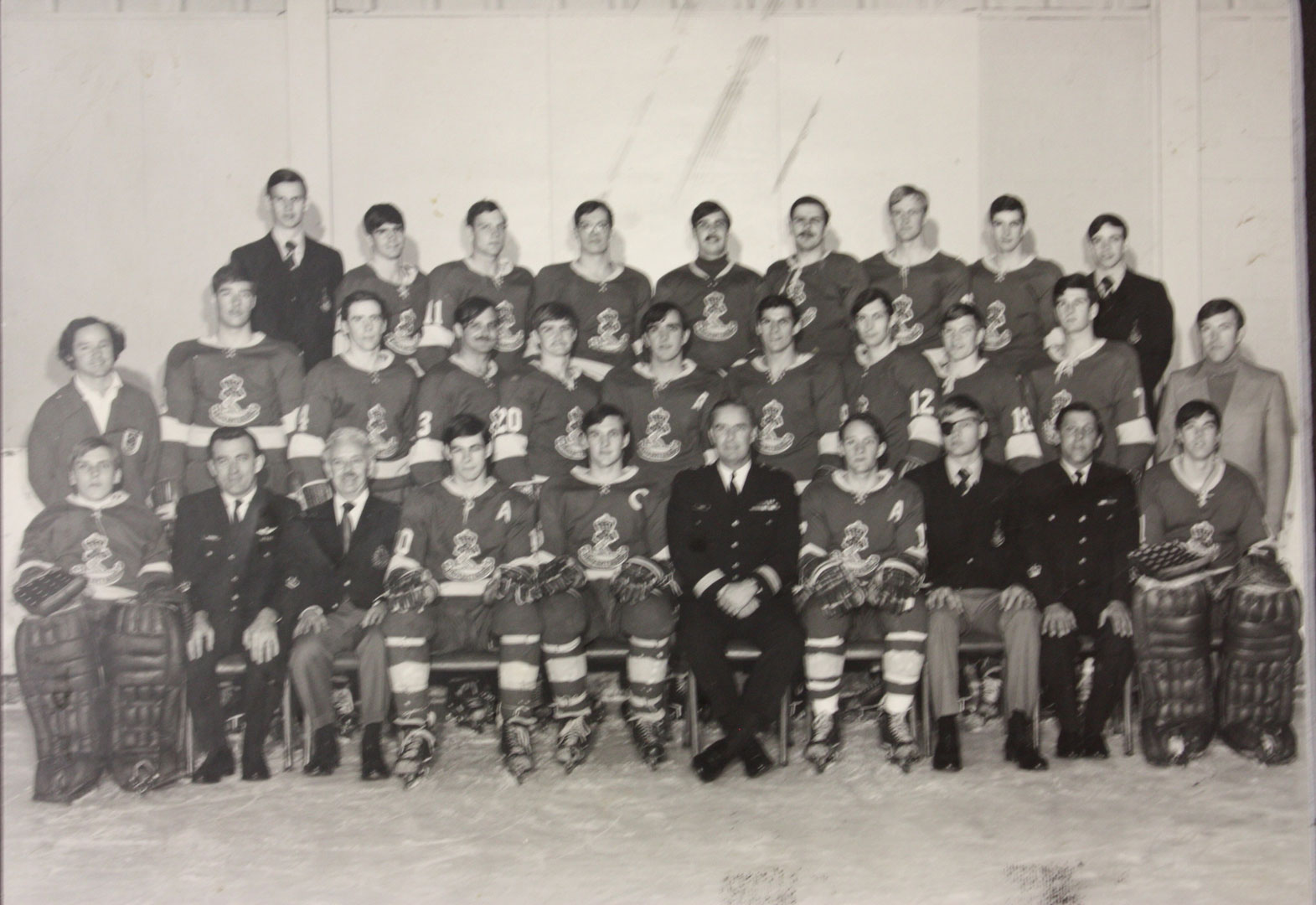 RMC Hockey 1973-74 Picture