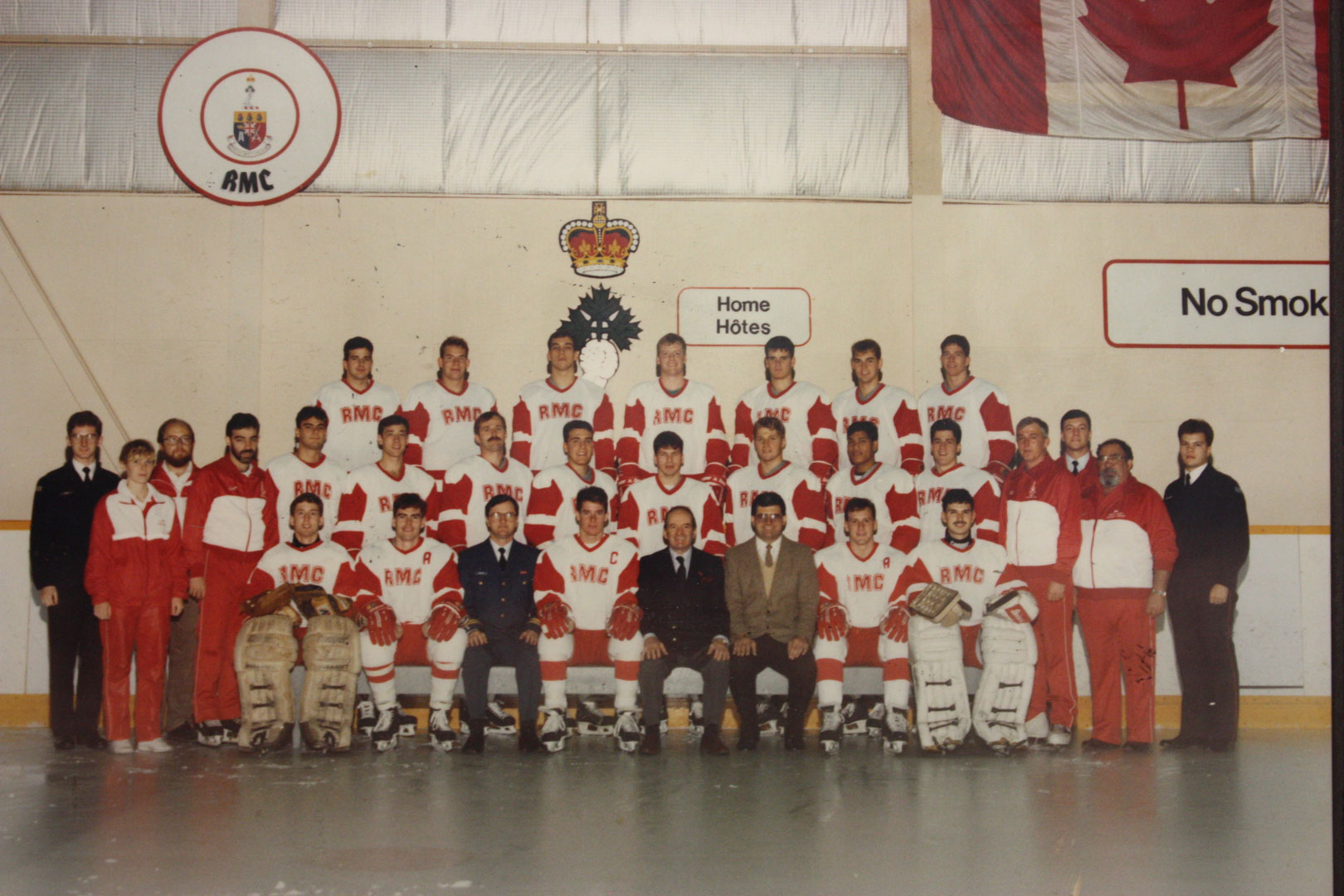 RMC Hockey 1989-90 Picture